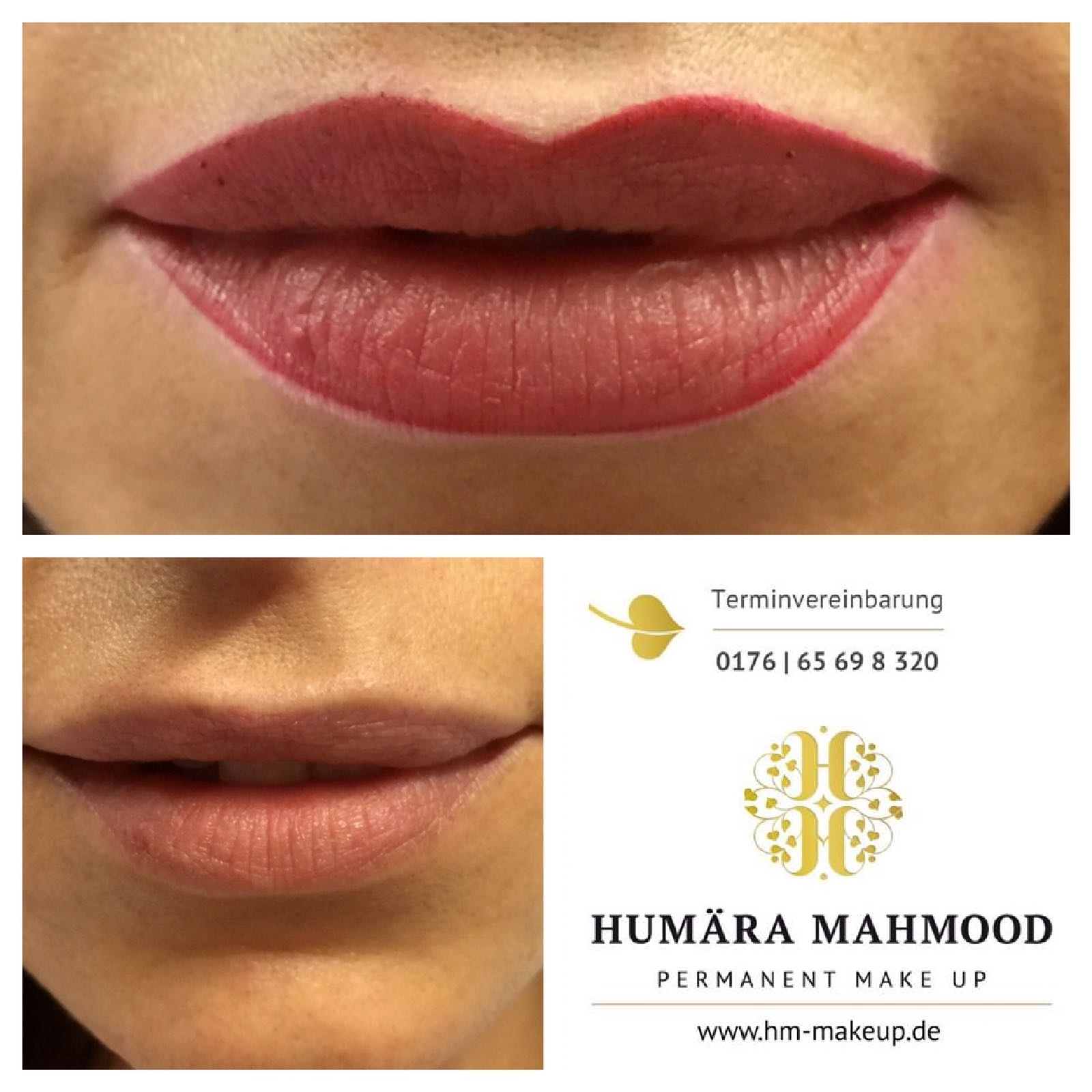 Lippenvorzeichnung