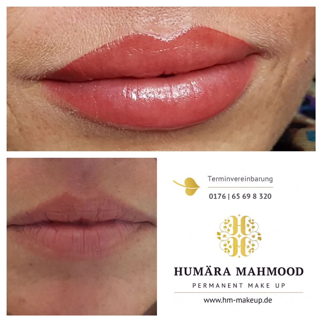 Lippenbehandlung