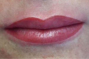 Permanent Make-up für Lippen