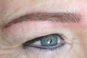 Ablauf einer Augenbrauen-Pigmentierung