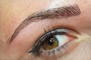 Augenbrauen Pigmentierung