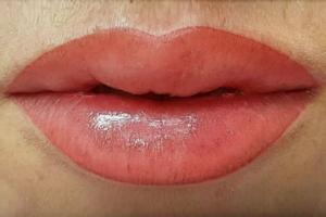 Einzigartige Lippen