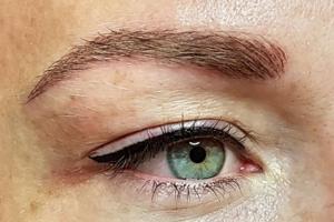Augen perfekt in Szene gesetzt